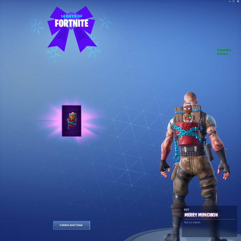 Merry Munchkin 14 Days of Fortnite Day 7 Reward