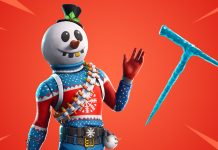 New Slushy Soldier Outfit and Icicle Pickaxe