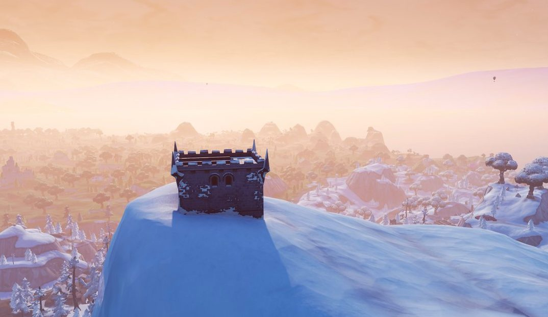 Fortnite Season 7 New POI - Polar Peak