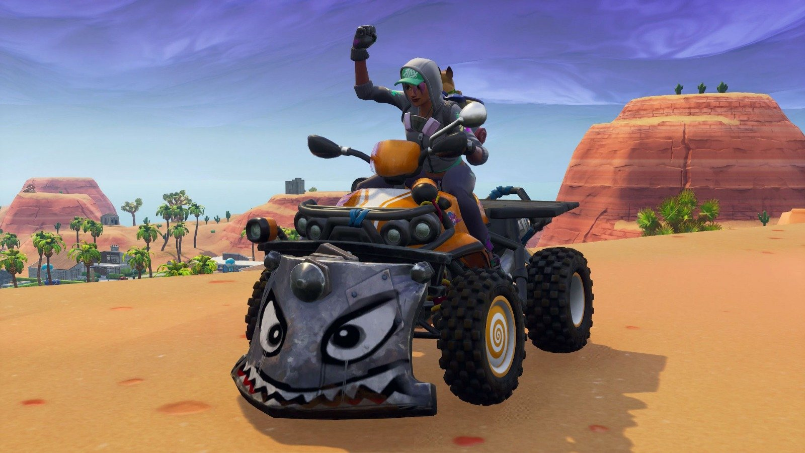Fortnite Vehicle - Quadcrasher