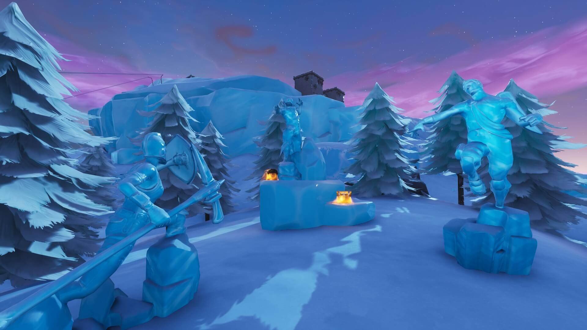 Fortnite Frozen Legends Starter Pack Leaked Winter Themed Red