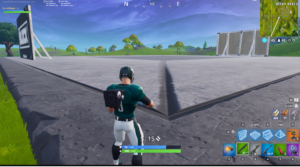 Risky Reels The Block Close Up