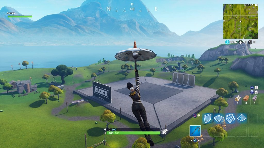 Risky Reels The Block