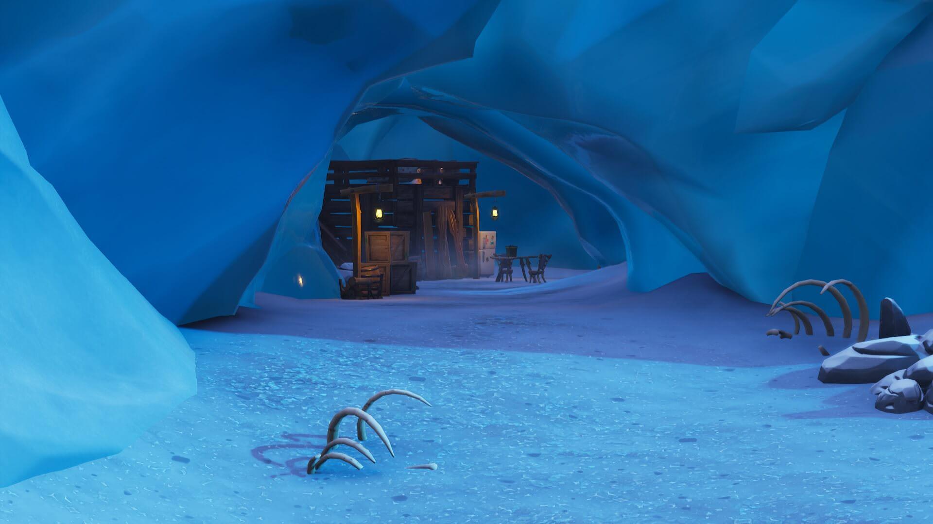 All Fortnite Map Changes In Season 7 V7 00 The Iceberg New Pois