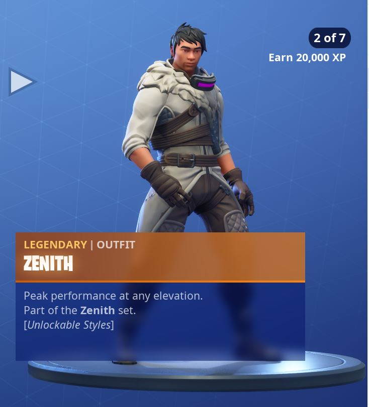 Zenith Stage 2 of 7