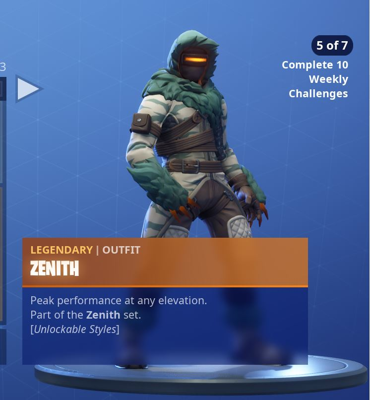 Zenith Stage 5 of 7