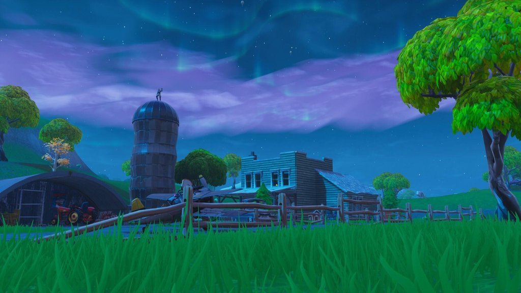 Two houses by Risky have become a small farm/airstrip