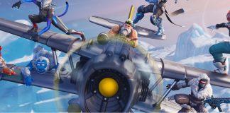 Fortnite Season 7 X-4 Stormwing Plane