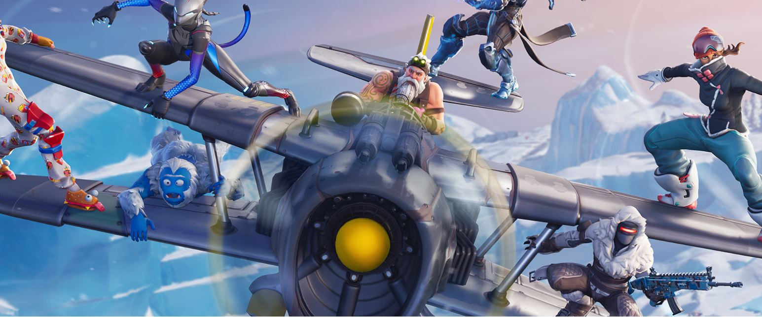 Fortnite Season 7 X-4 Stormwing Plane