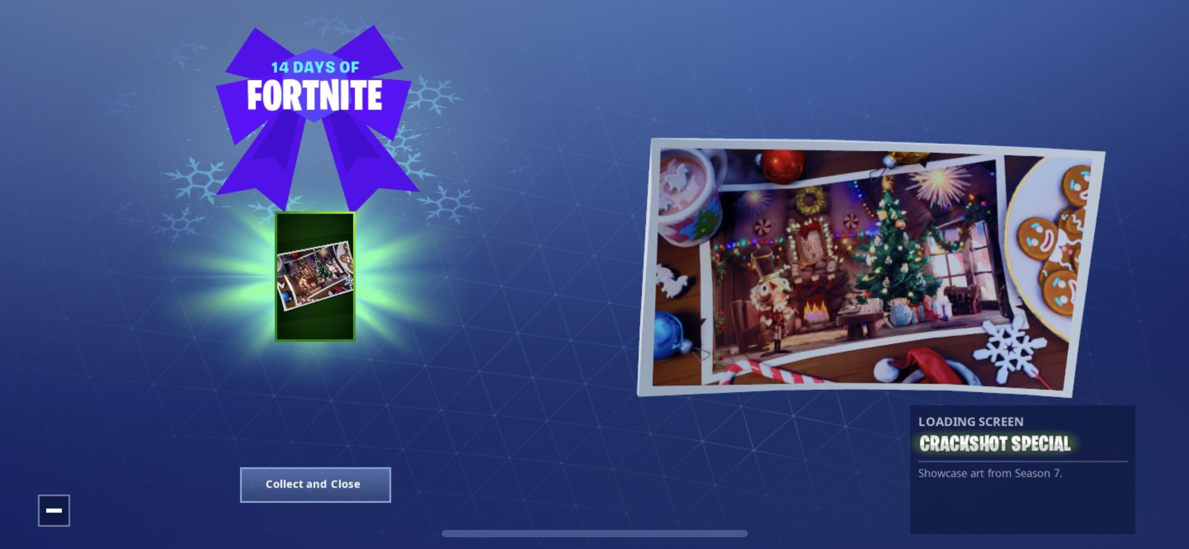 14 Days of Fortnite Reward - Day 6