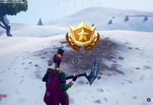 Battle Star Location for the Search between a Mysterious Hatch, a Giant Rock Lady and a Precarious Flatbed Fortnite Challenge