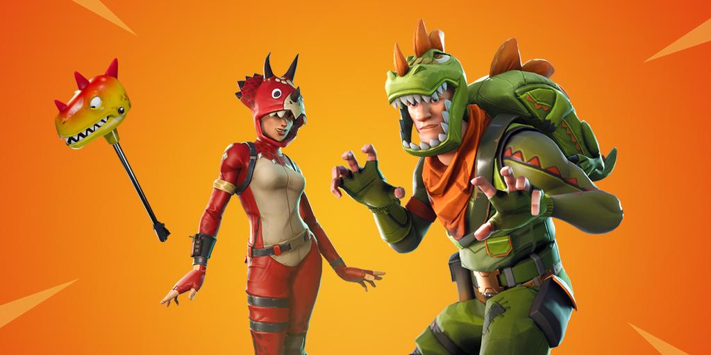 dino guard gear - dinosaur fortnite skin