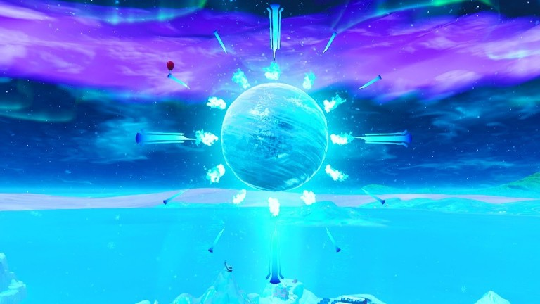 Fortnite Ice Storm Event Begins After Mysterious Orb Has Opened