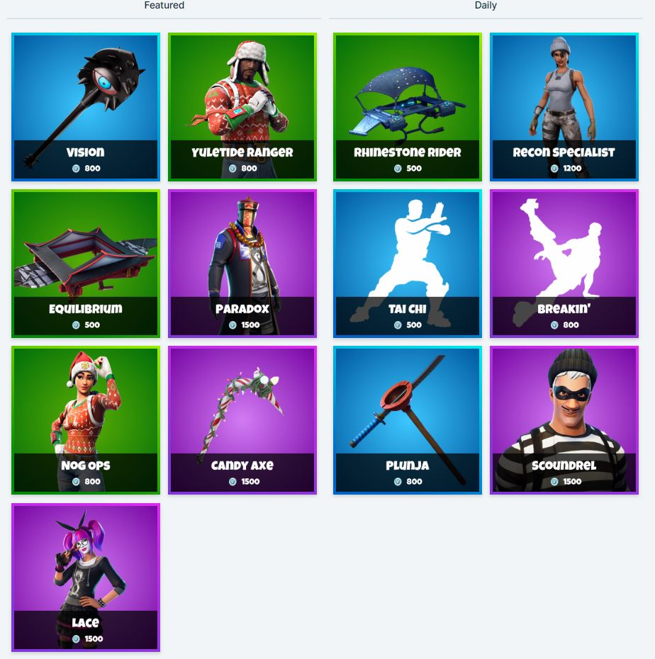 fortnite item shop 14th january - item shop today on fortnite