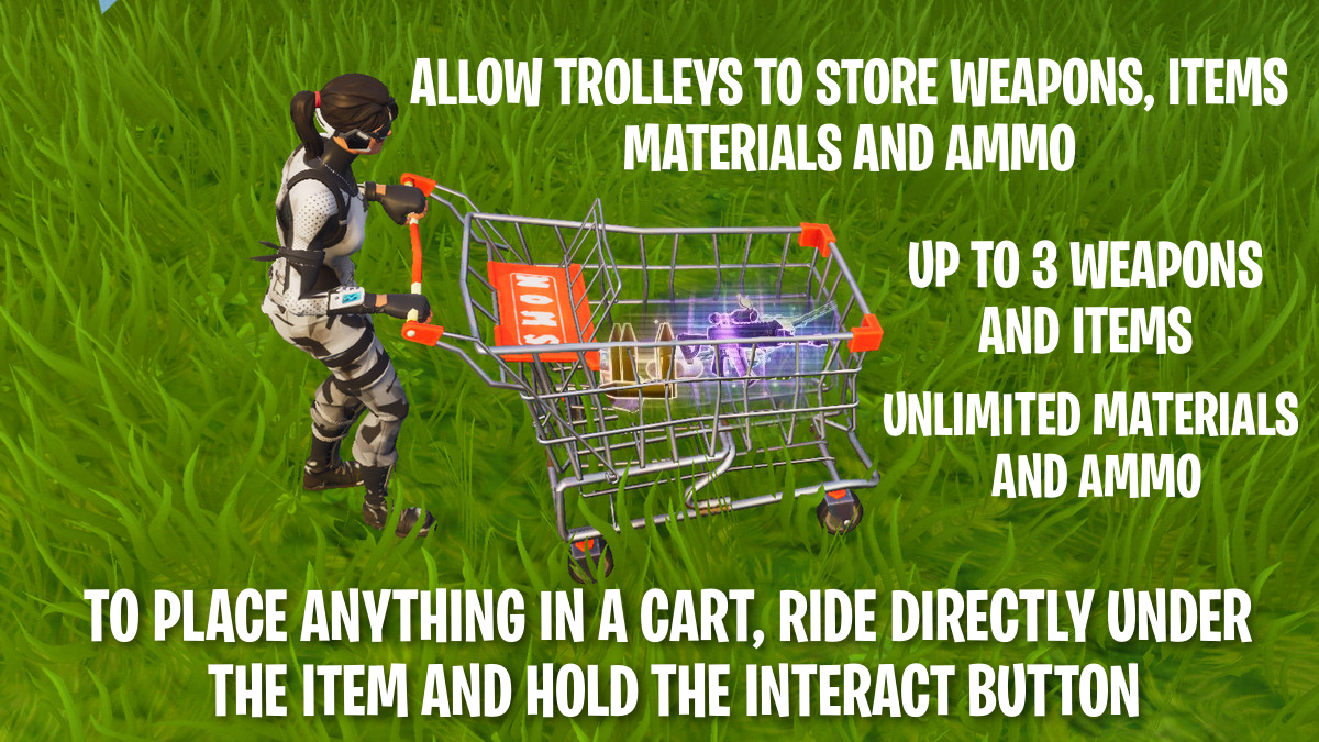 Fortnite Shopping Cart Suggestion