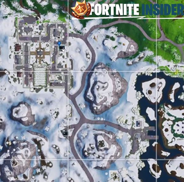 fortnite showtime poster map location - poster locations fortnite