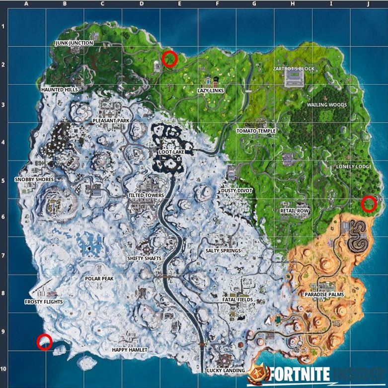 'Fortnite' Season Seven, Week Nine Challenges Guide