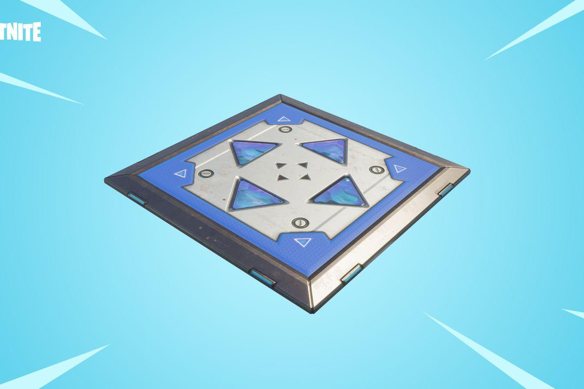Fortnite bouncer pad