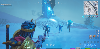 Ice Fiends, Ice Legion and Ice Brutes spawning from the Ice Shard.