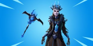 Ice Queen Fortnite Skin and Icebringer Pickaxe