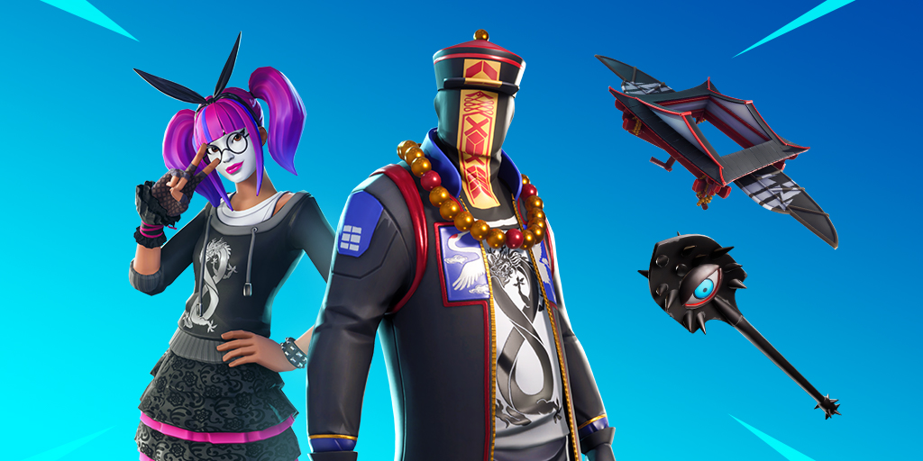 Fortnite Item Shop 13th January New Lace Amp Paradox