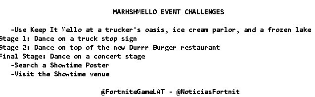 Marshmello Challenges