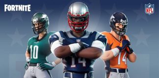NFL Fortnite Skins