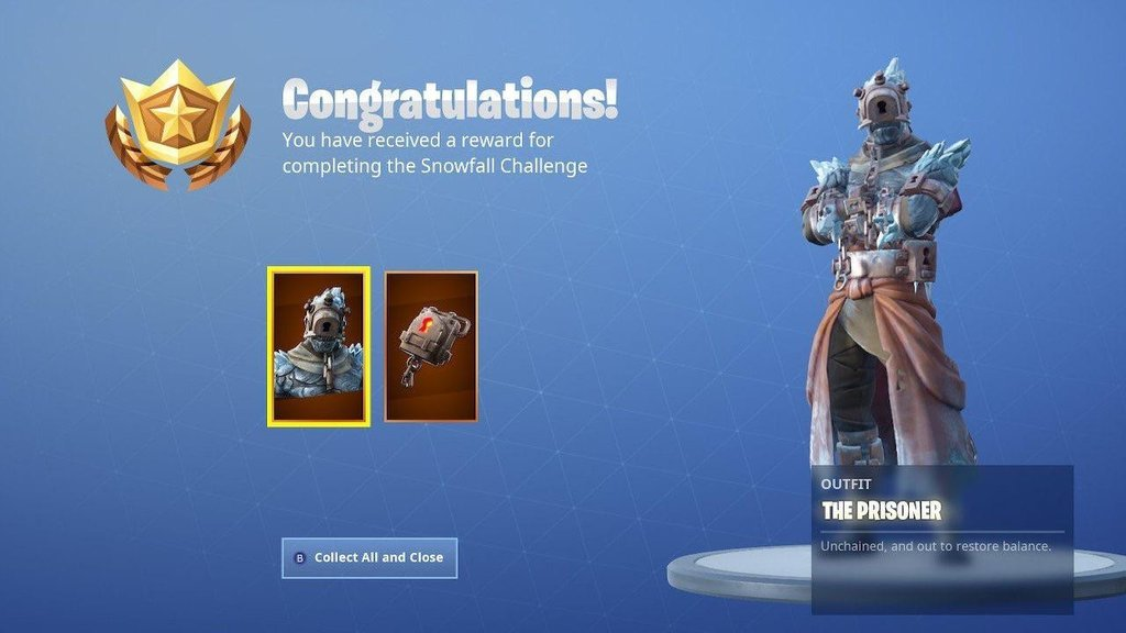 How to unlock stage 2 of The Prisoner skin in Fortnite