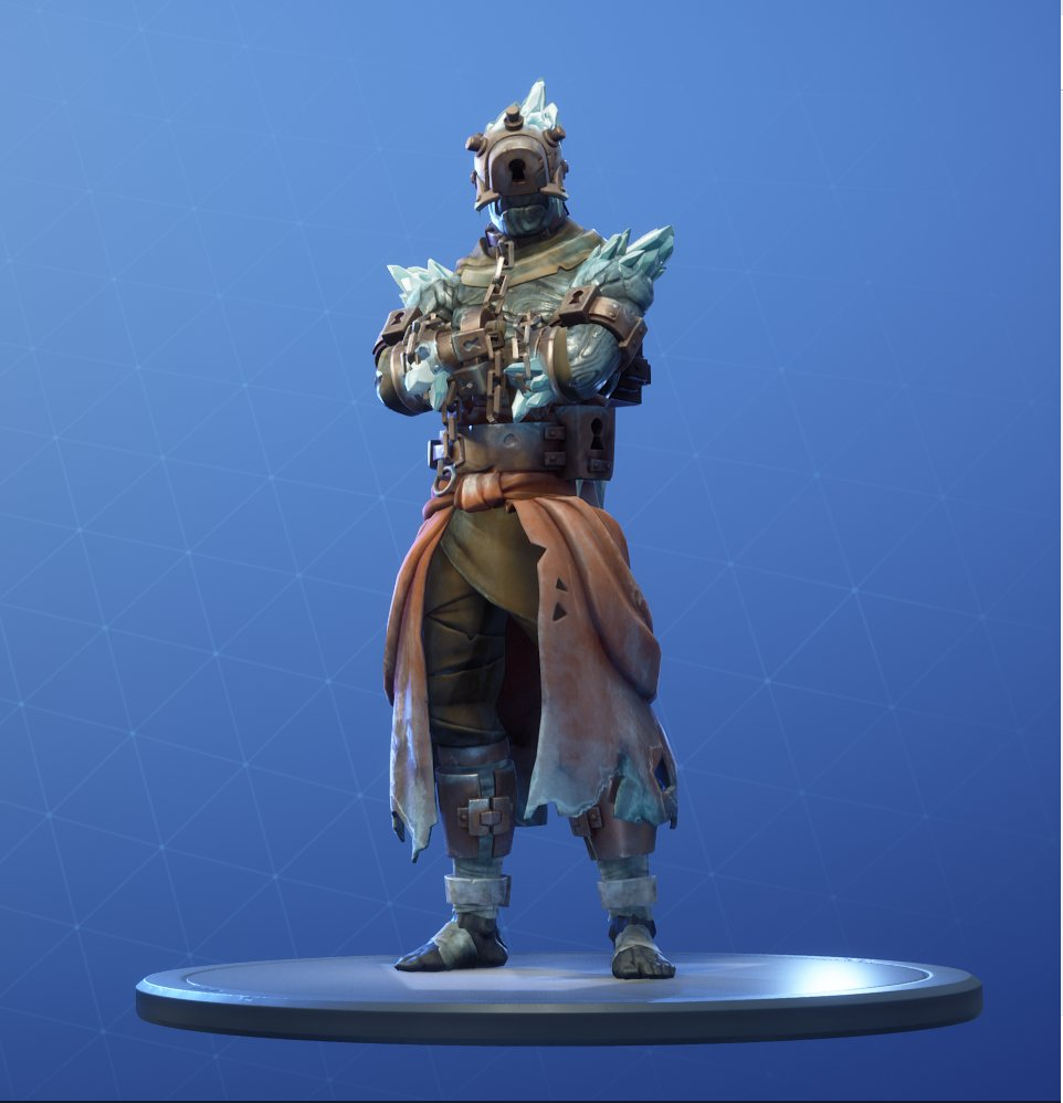 Snowfall Prisoner Skin Stage 1