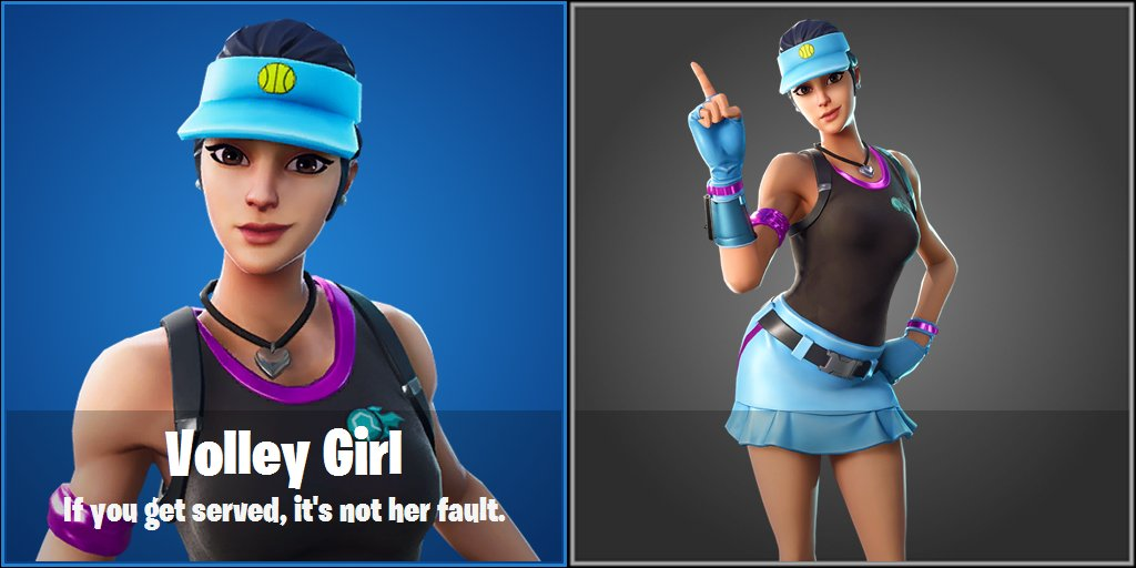 New Leaked Upcoming Fortnite Tennis Themed Skin And Back Bling