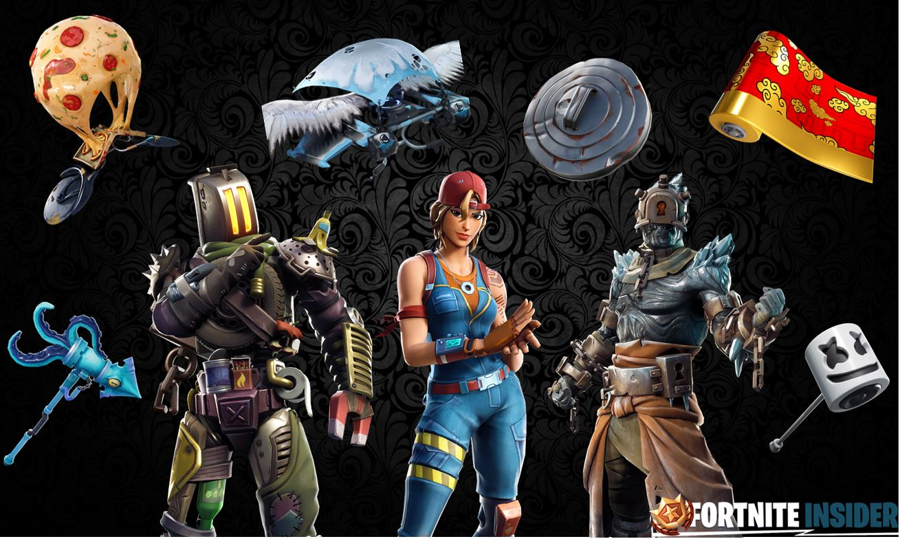 v7.30 Fortnite Leaked Skins and Cosmetics