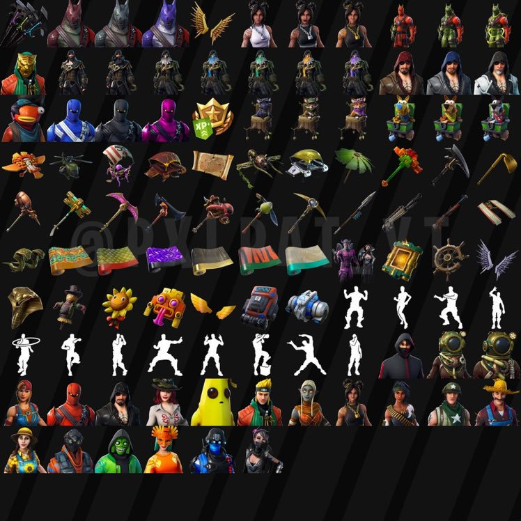 All Leaked Fortnite Skins Amp Cosmetics Found From The
