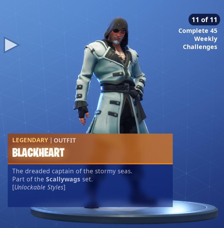 Fortnite Skin Blackheart Style 11