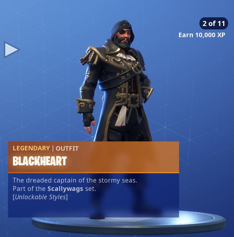 Fortnite Skin Blackheart Style 2