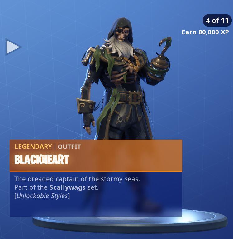 Fortnite Skin Blackheart Style 4