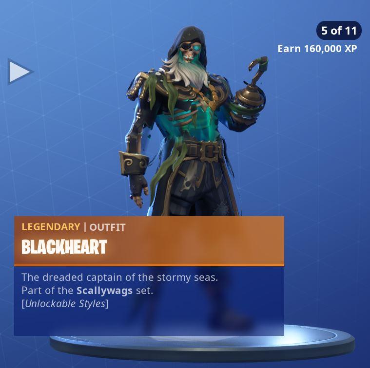 Fortnite Skin Blackheart Style 5