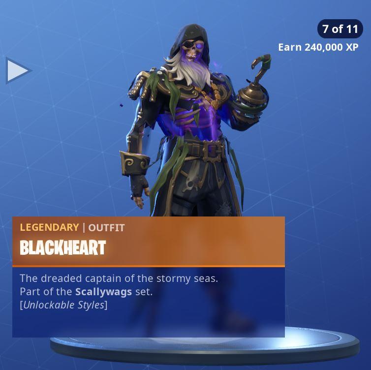 Fortnite Skin Blackheart Style 7