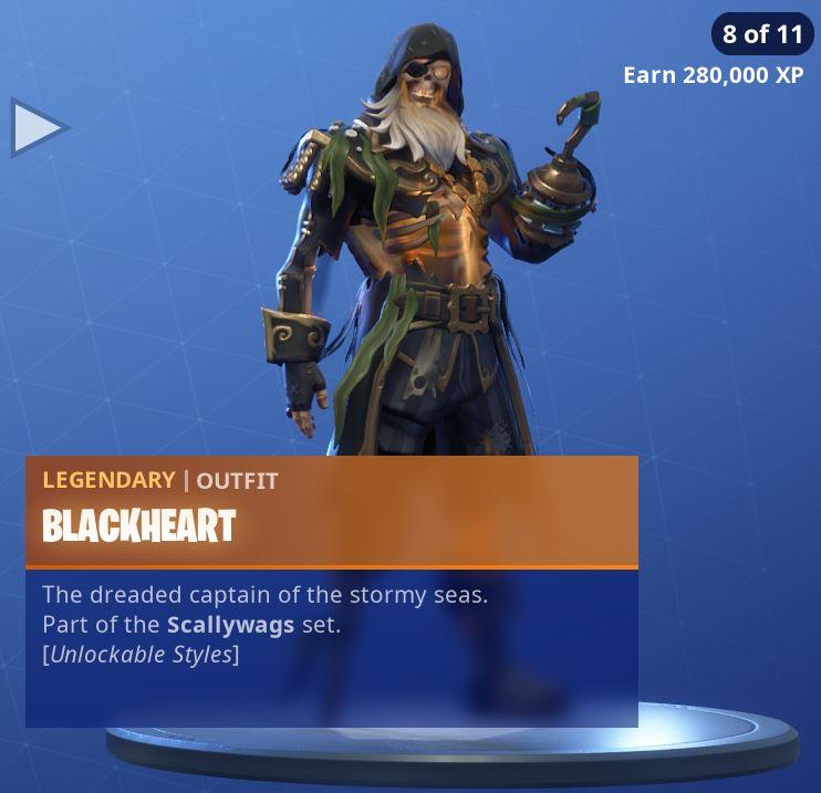 Fortnite Skin Blackheart Style 8