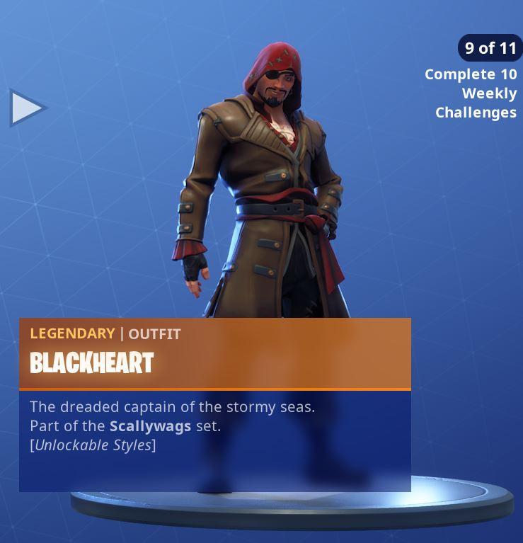 Fortnite Skin Blackheart Style 9