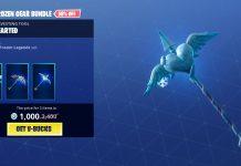 Fortnite Frozen Gear Bundle