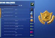 Fortnite Overtime Challenges