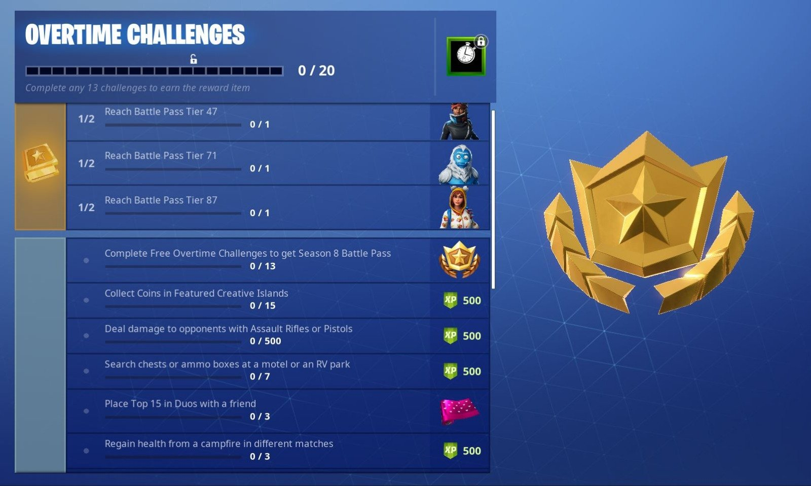 Image result for fortnite overtime challenge duos