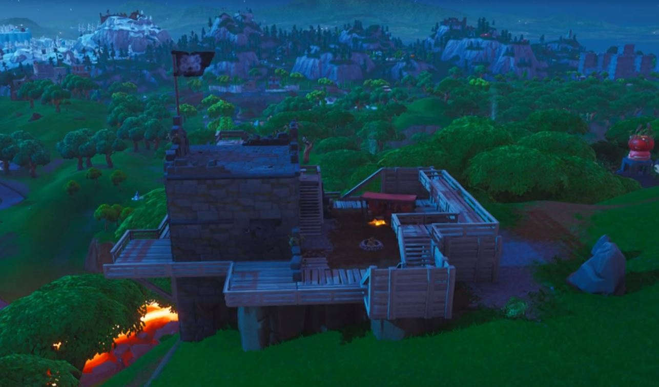 All Fortnite Pirate Camps Locations Map