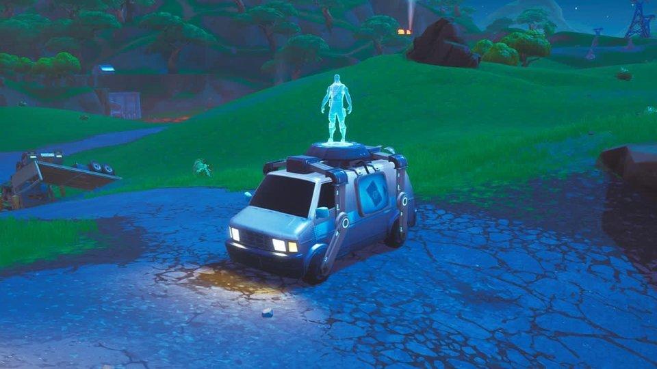Fortnite Reboot Van