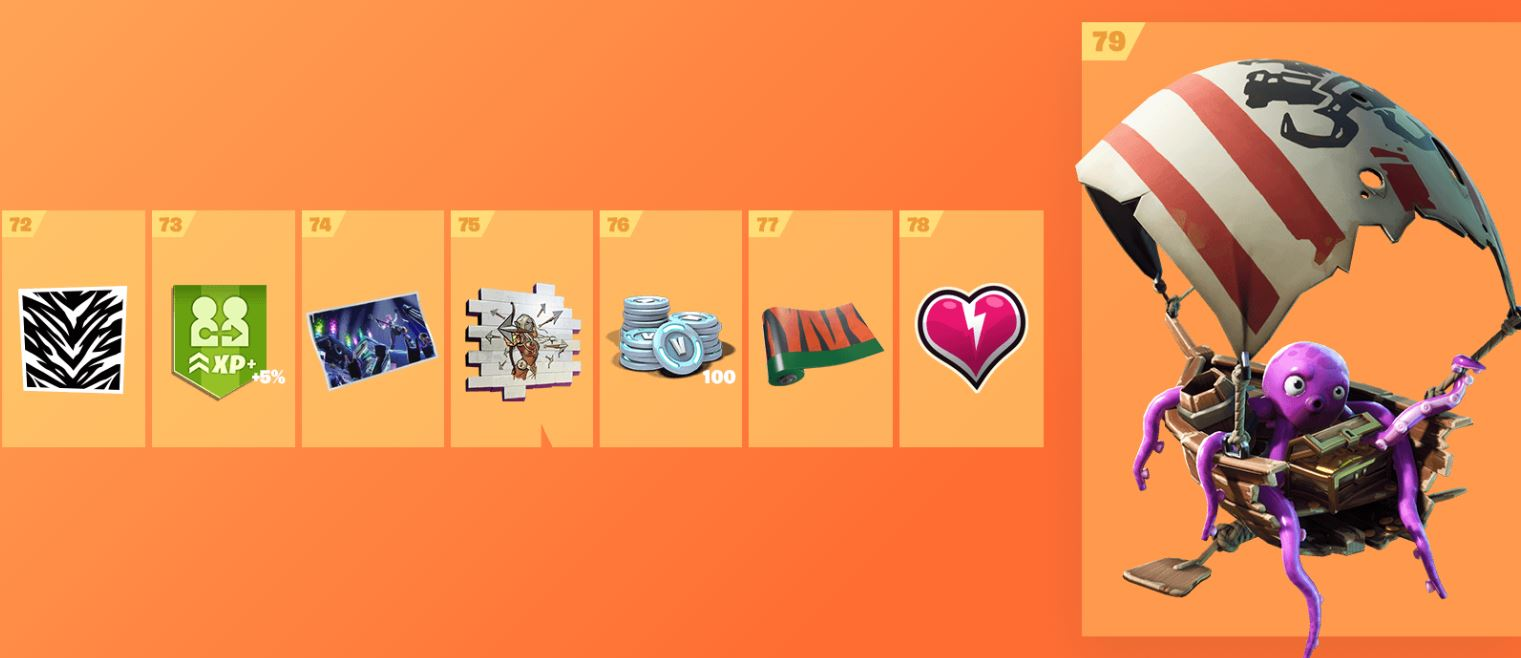 Fortnite Season 8 Battle Pass Cosmetics 10