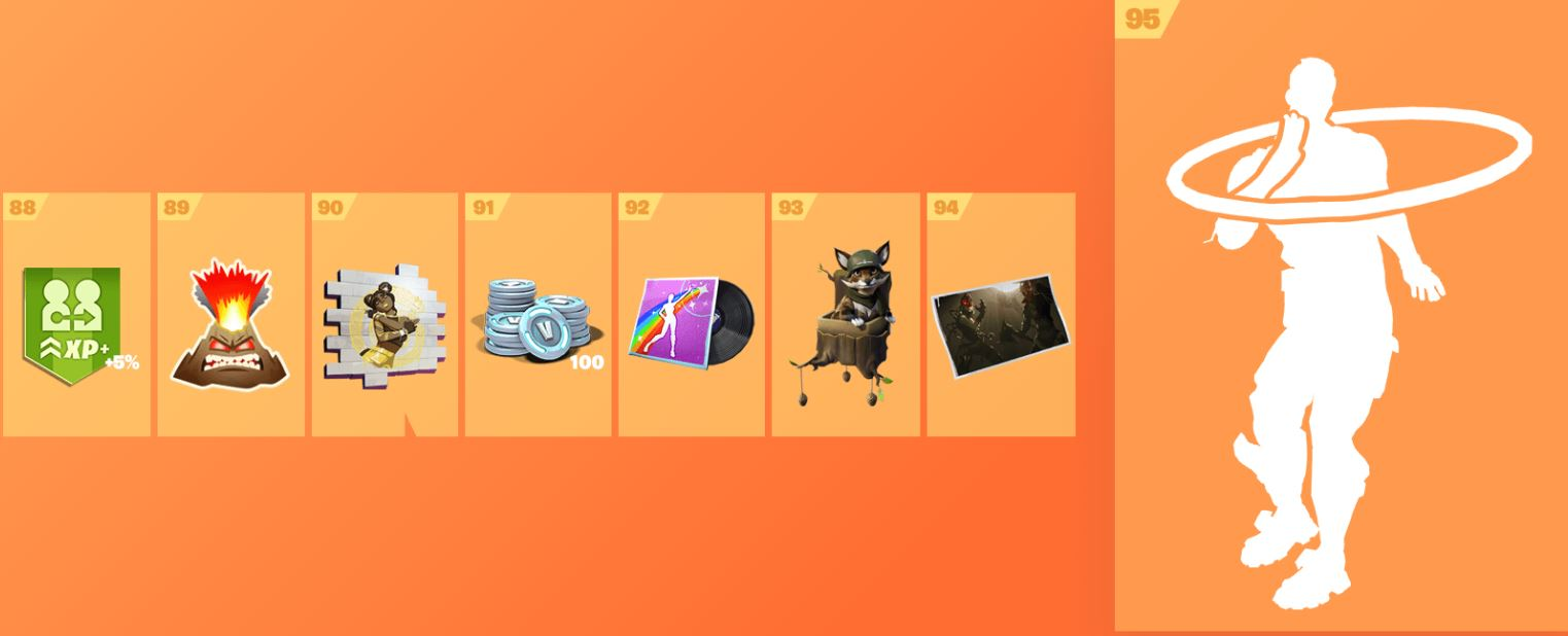 Fortnite Season 8 Battle Pass Cosmetics 12