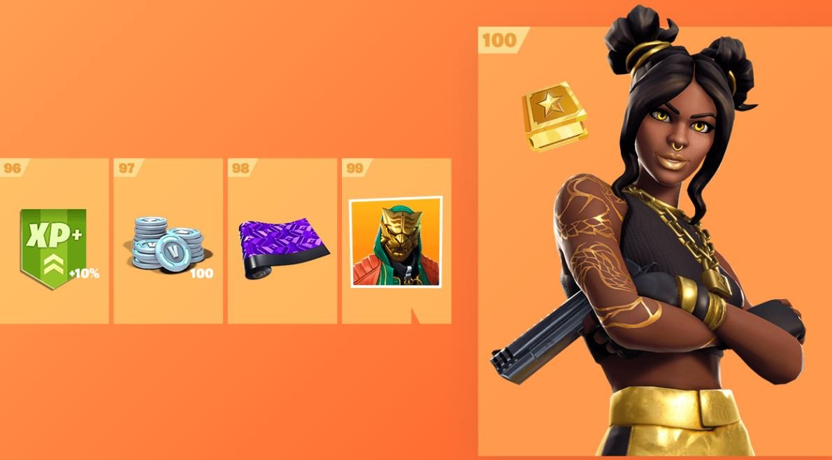 Fortnite Season 8 Battle Pass Cosmetics 13