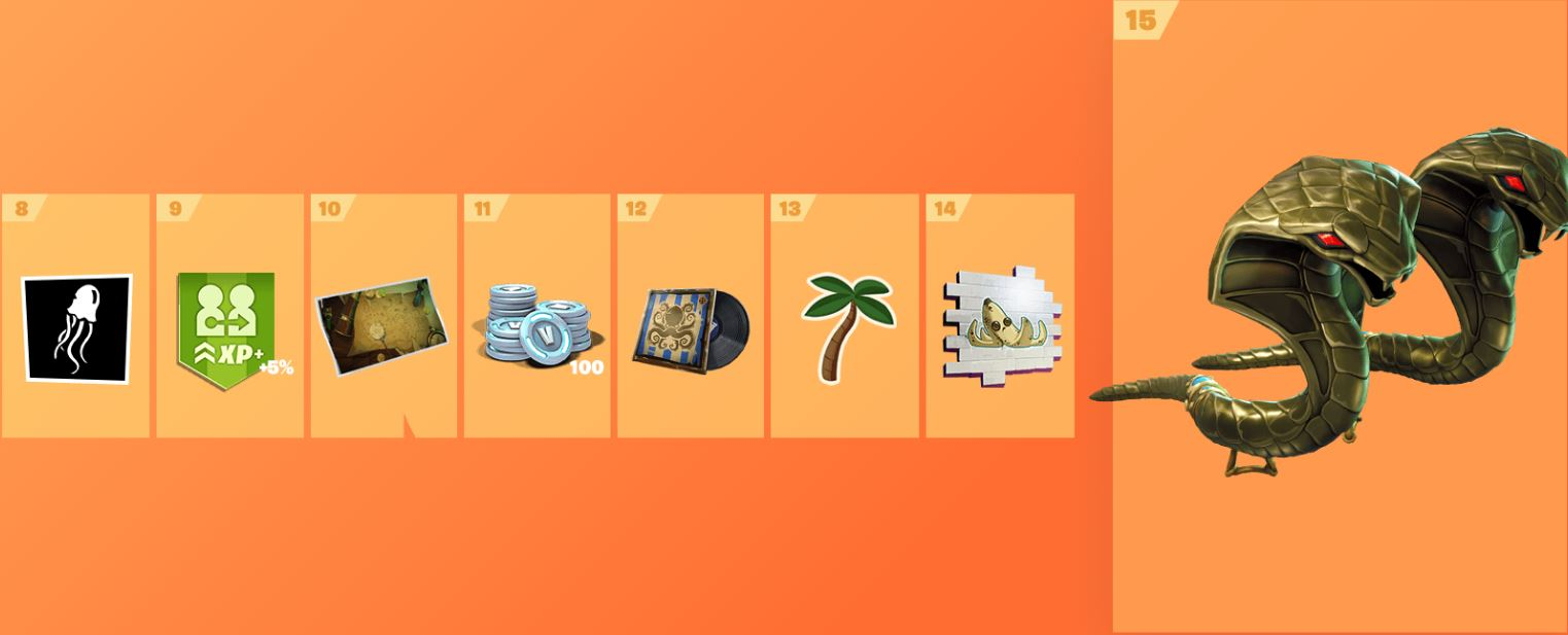 Fortnite Season 8 Battle Pass Cosmetics 2