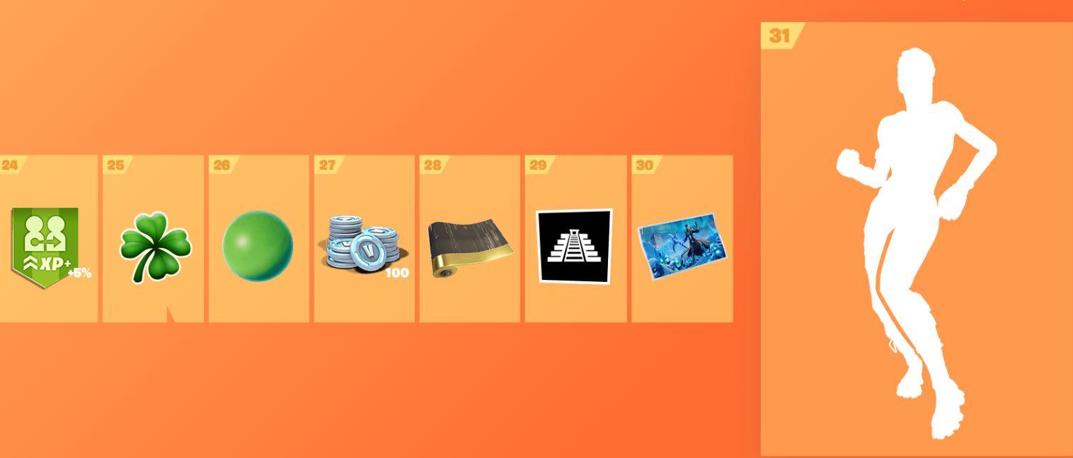 Fortnite Season 8 Battle Pass Rewards - Includes Skins