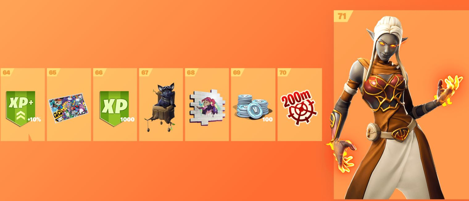 Fortnite Season 8 Battle Pass Cosmetics 9